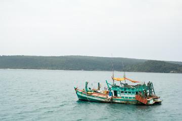 Coast in Koh Rong Island ,Cambodia : March 16 2015 : Koh Rong Island ,Cambodia