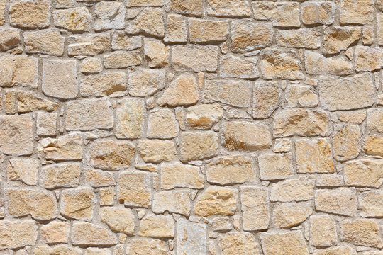 Wall of light, yellow Sandstone. Background image, texture.
