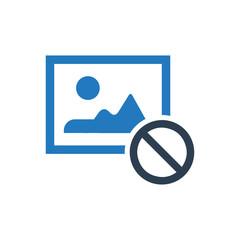 Image unavailable icon