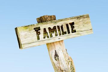 Schild 329 - Familie
