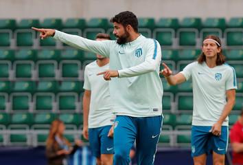 UEFA Super Cup - Atletico Madrid Training
