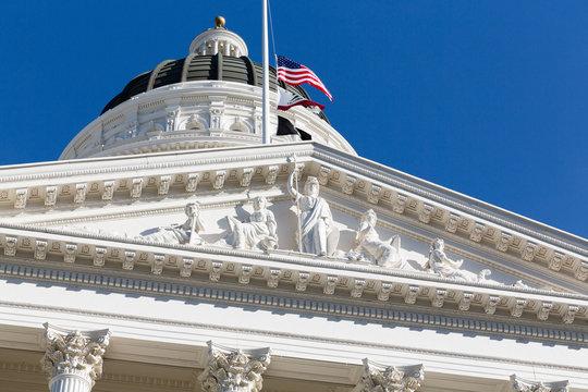 California State Capitol & Museum Portico Roof