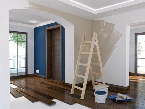 Repair in the apartment 8