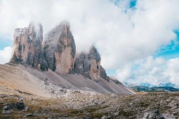 Big Rocks and Clouds