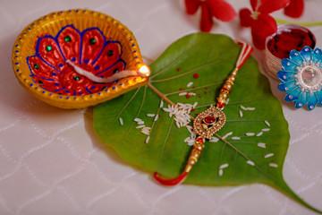 Indian festival Raksha Bandhan , Rakhi