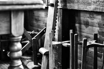 drewniane narzędzia