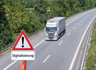 Digitalisierung Lkw-Branche