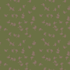 UFO military camouflage seamless pattern in green and different shades of brown color