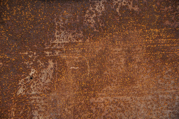 metal surface with rust. texture