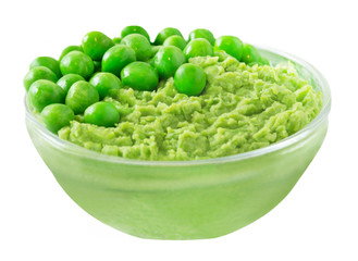 Erbsen  -  Peas -  Puree