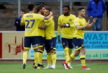 Carabao Cup First Round - Carlisle United v Blackburn Rovers