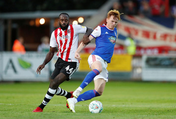 Carabao Cup First Round - Exeter City v Ipswich Town