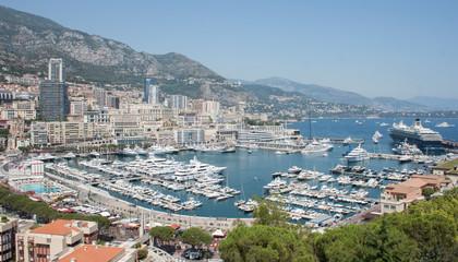 Aluminium Prints New Zealand Yachthafen von Monaco