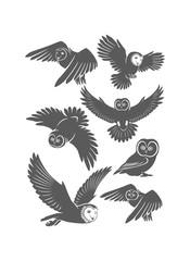 owl set image