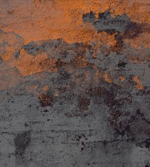 Concrete wall. Painted background. Old paint.