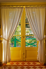 Monet's kitchen door, Giverny