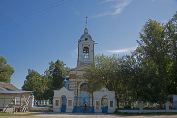 RURAL LANDSCAPE - village church