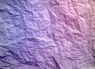 Crumpled colorful paper texture.