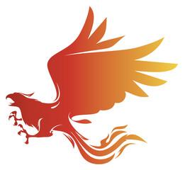 phoenix vector stock