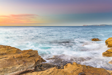 Coastal Sunrise from the Rock Platform