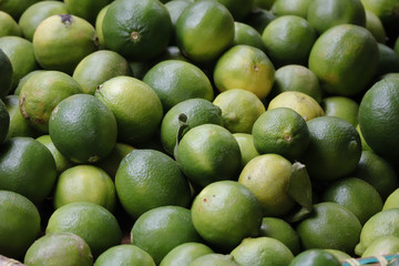 Dalat plum selling in market