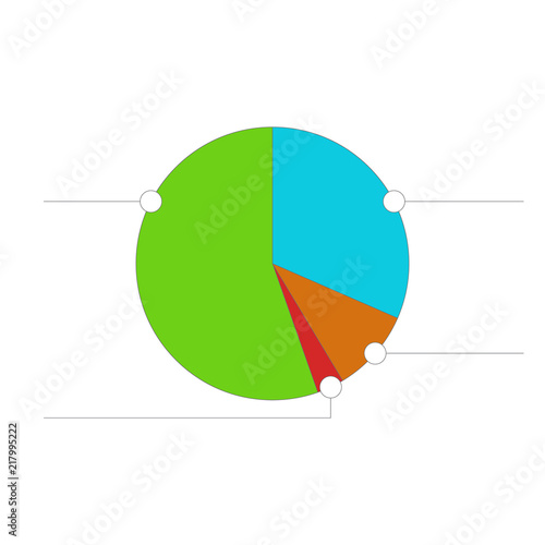 Pie Chart For Illustration Of Diagram Business Statistics And