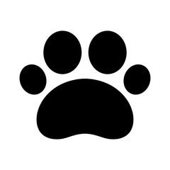 dog paw vector dog icon cartoon french bulldog illustration trail paw cat logo clip art