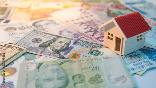Real estate or property investment  Home mortgage loan rate