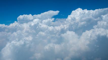 Super big clouds and sky in nature