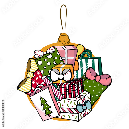 many gifts colorful christmas gifts xmas ball christmas presents colorful gift boxes - How Many Gifts For Christmas