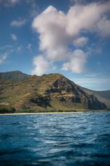 Fototapete - mountains to the sea