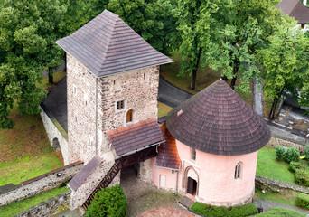 Tower of Kremnica castle, Slovakia