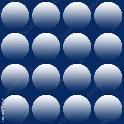 Sfondo Con Cerchi Sfumati Su Sfondo Blu Stock Photo And Royalty