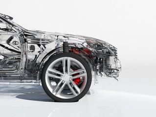 The car model.