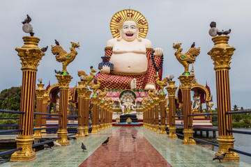 Temple bouddhiste de thailande