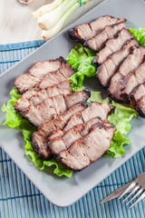 Char Siu Pork - Chinese roasted pork shoulder