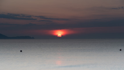 Sunrise Seascape on the Cam Ranh Peninsula