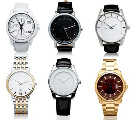 Six men's mechanical watches