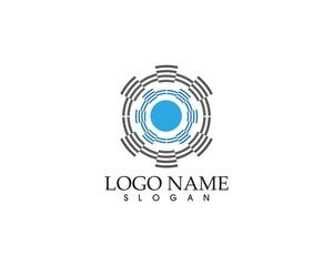 Speaker logo vector template