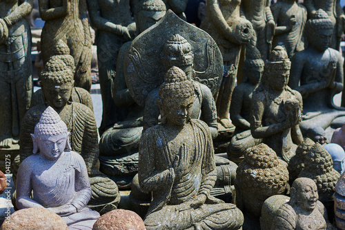 Typical Souvenir Shop Selling Souvenirs And Handicrafts Of Bali At