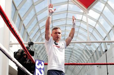 Boxing - Carl Frampton & Tyson Fury Public Work Outs