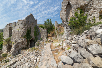 Ruins of Stari Bar,  in Montenegro