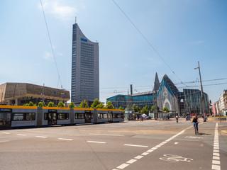 Panorama von Leipziger Innenstadt