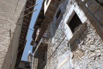 Casas en el casco antiguo de Valderrobles