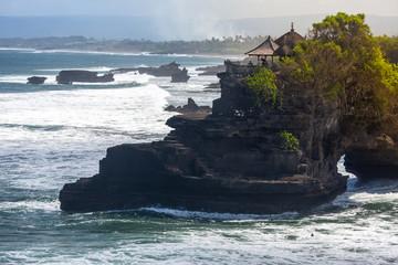 Tanah Lot religious temple ,Bali island,Indonesia