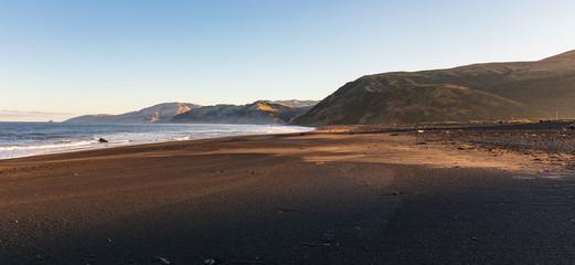 Sunrise on Mattole Beach
