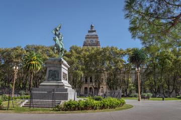 Plaza San Martin Square - Rosario, Santa Fe, Argentina