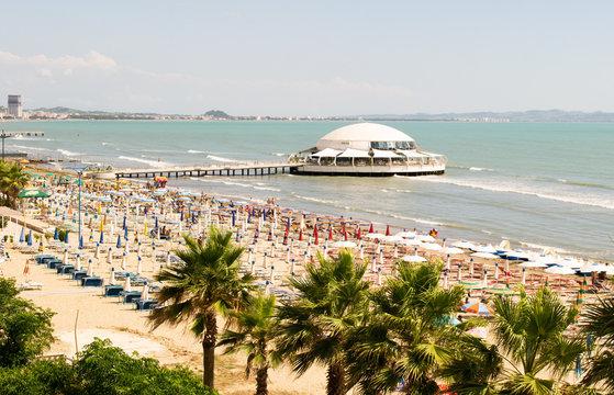 Beach at Durres, Albania