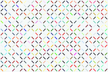 Abstract gemetric pattern with colored elements