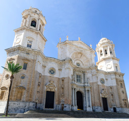 Cathedral of Santa Cruz in Cadiz